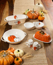 Seasonal Fall Autumn Harvest Pumpkin Tabletop Collection