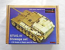 LEGEND PRODUCTIONS STUG III Stowage Set 1/35 (LF1149)