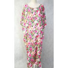 Women Ladies Long X-Large Cotton Kaftan Caftan Boho Casual Dress Free Size