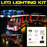 ONLY LED Light Lighting Kit For LEGO 42098 Motor Vehicle Building Bricks Toys