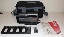 RCA Pro 8 Camcorder Model PRO942 8mm Video Camera 5 Batteries, Manual, & Remote