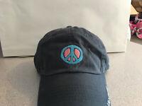 """Life Is Good Cap Hat Round Plane Logo Pink EMB Navy  """"Buy 4 Get 1 Free"""""""