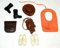 "Fits 11 1/2"" Barbie Friends Ken GI Joe,.. Doll Fashion Gea Boots Shoes,...Lot 32"