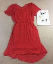 City Chic Womens Red Wedding Guest Cocktail Dress Sundress $89 Plus XS 14W - P2