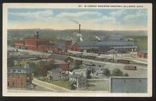 Postcard ALLIANCE Ohio/OH  McCaskey Cash Register Factory Aerial view 1910's