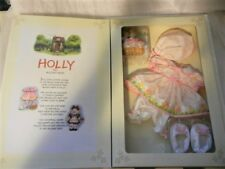 HOLLY the HOLIDAY BEAR WARDROBE EASTER EASTER EGG HUNT FRANKLIN MINT