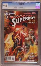 SUPERBOY # 5 CGC 9.8 The new 52! - DC COMICS