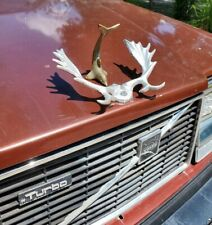 RARE ANTIQUE DOLPHIN 🐬 HOOD ORNAMENT SOLID BRASS