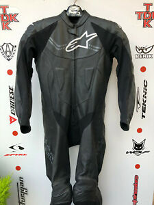 Alpinestars Challenger V2 1 piece race suit with hump uk 44 Euro 54
