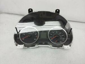 2013 Subaru Xv Crosstrek At Speedometer 72K Miles Instrument Cluster 85002Fj900