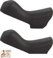 SHIMANO DURA-ACE ST-R9120 STI BICYCLE BRAKE LEVER BLACK HOODS--1 PAIR