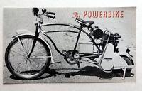 Vintage 1950's Powerbike Sales Brochure