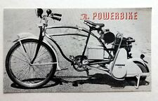 Vintage 1950's Powerbike Sales Brochure