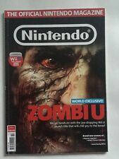 Official Nintendo Magazine Issue 86 October 2012 Wii U 3DS Zombie U