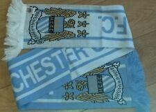 manchester city  fc official scarf man city mcfc maine road premier league