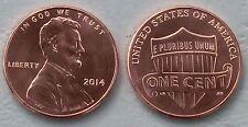 USA 1 cent Lincoln 2014 P unz.