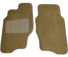 New Malibu Achieva Cutlass Genuine OEM Factory Floor Mats Front Tan 2 Piece Set