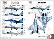 HAD Models MIG-29 B/UB 1/48 decals