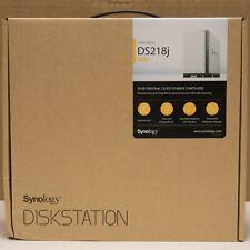 12TB RAID 2x6TB WD HDD Installed Synology 2 bay NAS DiskStation DS218J