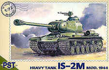 PST 1/72 Jozef Stalin IS-2M 1944 Heavy Tank # 72003