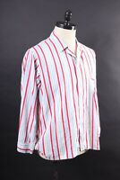 Vintage PENNY'S TOWNCRAFT Cotton Striped Pajama Shirt USA Mens Size Large