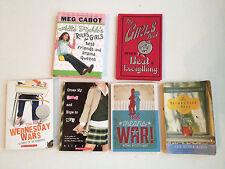 6 book Lot Young Adult Girls Meg Cabot Ally Carter Girls Book Secret Life of Bee