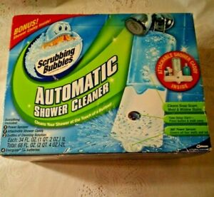 New Scrubbing Bubbles Automatic Shower Cleaner Plus Shower Caddy Mother's Gift