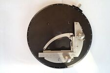 RARE CARL ZEISS MICROSCOPE STAGE ROTATING SLIDER - PLATINE ROTATIVE MOUVEMENTS X