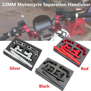 22MM Aluminium Motorcycle Balance Separation Bar Handlebar Strength Lever Kit