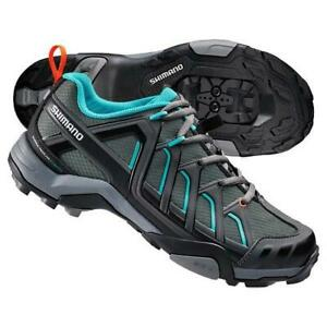 Shimano SH-WM34G - MTB Shoes Women  Black/Green  BNIB  RRP:   £49.99