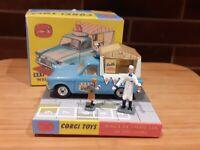 Corgi Toys 447  Ford Thames Walls Ice Cream Van Fully Restored With Repro Box.