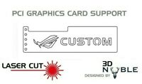 WHITE - ROG CUSTOM - GPU Anti-Sagging Support Bracket/Brace GTX NIVIDA AMD ROG