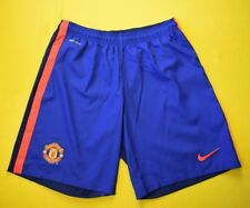 Manchester United Shorts 2014 2015 Third Size XL Mens Blue Football Nike ig93