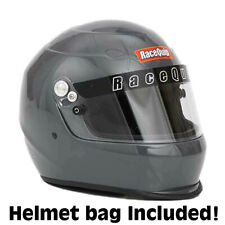 RaceQuip PRO-15  Auto Racing Helmet  Medium Gray  SA2015       NEW
