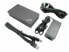 Lenovo ThinkPad USB 3.0 Pro Dock Display Port Docking Station and PSU