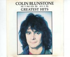 CD COLIN BLUNSTONE	sings his greatest hits	1991 VG++  ( B2529)