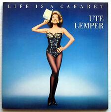 "12"" LP Vinyl - UTE LEMPER - Life is a Cabaret"