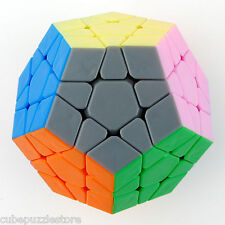 Dayan Megaminx Dodecahedron Twist Puzzle Magic Cube Stickerless Black Fancy Toys