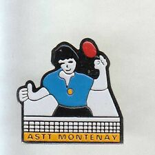 RARE PINS PIN'S .. TENNIS DE TABLE PING PONG CLUB ASTT MONTENAY 53 ~AQ