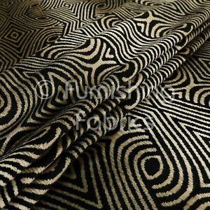 New Modern Elegant Medallion Pattern Quality Weight Velvet Upholstery Fabric