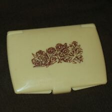 Vintage COTY WILD MUSK 1970's Collectible Compact,Discontinued Solid Fragrance