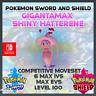 Gigantamax Shiny Hatterene | Pokemon Sword & Shield | 6IVS | Level 100 |