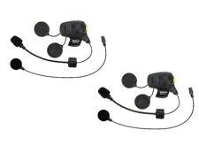 Sena SMH5-FM Bluetooth Headset & Intercom Dual Pack Boom/Wired Mic SMH5D-FM-UNIV