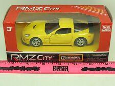 RMZ City Collection Vehicle ~ 19 Chevrolet Corvette C6-R prototype yellow