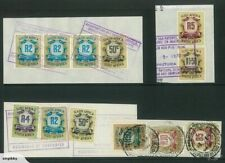 REVENUE - SOUTH AFRICA - 1968 values to R50 on pieces (MT132)**