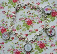 80s Theme Charm Bracelet Troll, Jem, moomins, My Little Pony G1 Logo Retro Gift