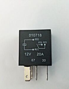 Micro Relay 4 PIN 12v 20a Normally Open Mini 20 amp CAR VAN BOAT MRY1