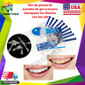 Kit Dental Profesional Para Blanquear Los Dientes Higiene Bucal Led Light Gel