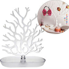 Jewelry Rack Creative Tree Display Holder Necklace Stand Ring Earrings Acrylic