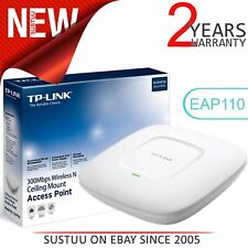 TP-Link EAP110 300Mbps Wireless N Ceiling Mount Access Point│Support Passive PoE